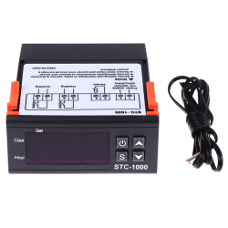 Digital 220V STC-1000 Temperature Controller Thermostat Regulat one size