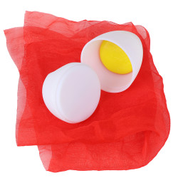 egg with egg yolk silk scarf changed egg duck egg height simula one size