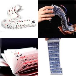 Electric deck magic props card magic trick stage acrobatics wat Red