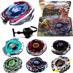 Hot Fusion Metal Rapidity Fight Masters Top Beyblade String Laun 0 0