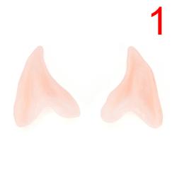 Hot Latex Prosthetic Fairy Pixie Elf Ear Halloween Costume Cospl Nude 7cm