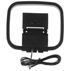 Indoor HiFi AM/FM Loop Mini Connector Antenna Home Digital Audio
