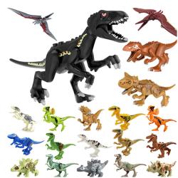 Jurassic Dinosaur Building Blocks Kids Children Toy Compatible  F