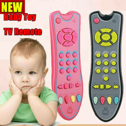 Kids Music Mobile Phone TV Remote Control Electric Numbers Early Gray