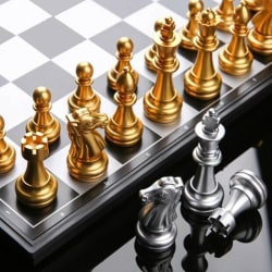 Magnetic Travel game Chess Set Wegiel European Professional Tour