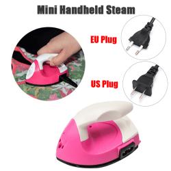 Mini Electric Iron Portable Travel Crafting Craft Clothes Sewin EU Plug