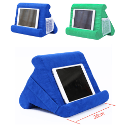Multi-Angle Soft Stand Pillow Tablet Phone Holder for iPad Tabl Black
