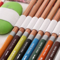 New 36/48/72 Holes Canvas Wrap Roll Up Pencil Bag Pen Case Holde gray cloth