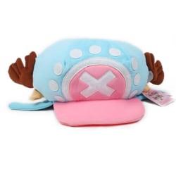 New Anime Tony Tony Chopper Cap Cosplay Plush Winter Hat Gifts L Blue