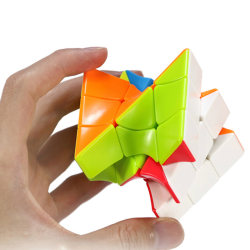 New Cube Colorful Twisted Cube Puzzle Finger Toys Educational To