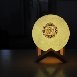 Quran Bluetooth Speaker Remote Control Moonlight Night Light Mo one size