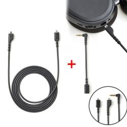 Replacement Audio Cable Connector For Arctis 3 Arctis 5 Arctis  Black