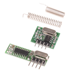 RF module 433mhz superheterodyne receiver and transmitter kit f One Size