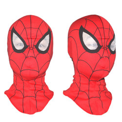 Super Heroes Spiderman Mask Adult Kids Cosplay Fancy Dress Costu Red