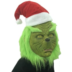 The Grinch Cosplay Mask Glove Costume Christmas Prop How the Gri A1