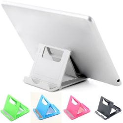 Universal Desk Portable Foldable Stand Holder Cradle For iPhone Black