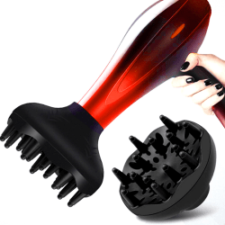 Universal Hairdressing Blower Cover Styling Salon Curly Hair Dr one size