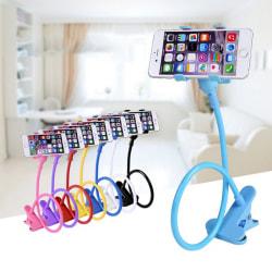 Universal Lazy Bed Desktop Stand Mount Car Holder For Cell Phone Black