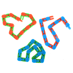 Wacky Tracks Snap and Click Toys Kids Autism Snake Puzzles Class One Size