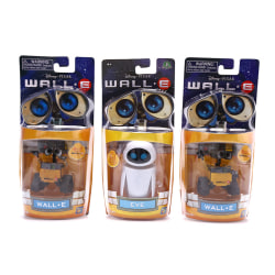 Wall-E Robot Wall E & EVE PVC Action Figure Collection Model Toy A