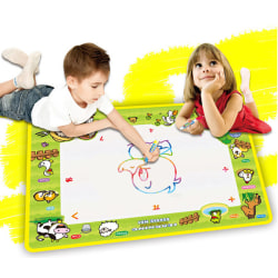 Water drawing mat with 2 drawing pen kid's magic water drawing p one size