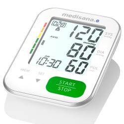 Medisana BU 570 Connect Blodtrycksmätare Vit