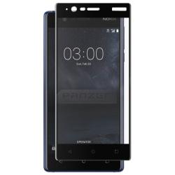 Panzer Nokia 3, Curved Silicate Glass, Black