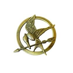 Brosch pin Mockingjay Hungerspelen Hunger Games Katniss