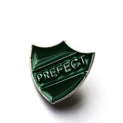 Brosch pin Slytherin Harry Potter Hogwarts PREFECT