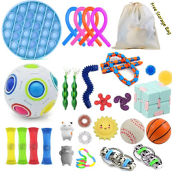 30pcs Sensory Fidget Toys for Kids and Adults