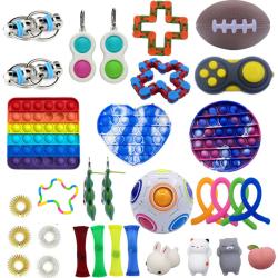 32 pcs Fidget Toys Set for Children and Adults