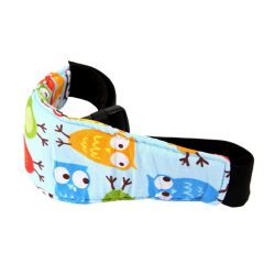 Baby Kids Sleep Aid Car Head Holder Belt Blue