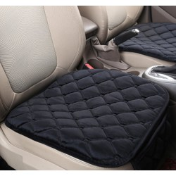 Comfortable Non-slip Breathable Car Cushion Black 1pcs-Front Seat Cushion