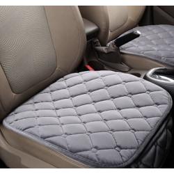 Comfortable Non-slip Breathable Car Cushion Gray 1pcs-Front Seat Cushion
