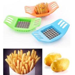 Klipp pommes frites Grid Cutter Kitchen Tool