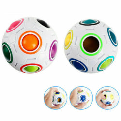 Fidget Ball Rainbow Puzzle Magic Fig Cube Toy