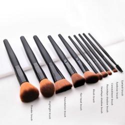Makeup Borste Set Tool Makeup Kosmetisk Set Black No.7 - (1pcs)