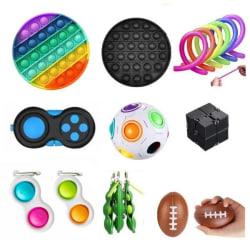 PRO set - 17 pcs Fidget Toys Set for children and adults