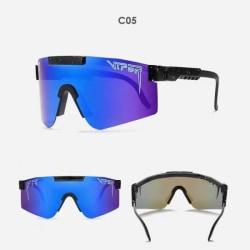 Unisex Polarized Pit Vipe Sports Solglasögon C05
