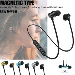 Wireless Bluetooth Earphone V4.1 Headphone wit Black