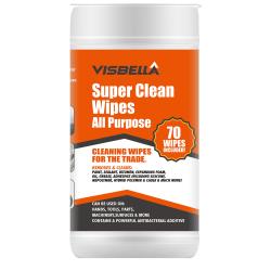 Super Clean Wipes - Tvättlappar Våtservetter