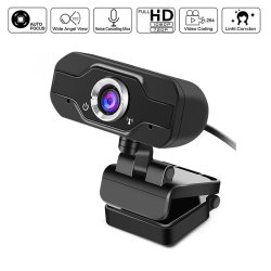 1080P Full HD USB Webcam Web Camera with Microphone for PC Deskt