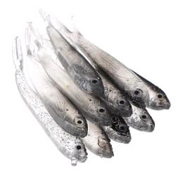 10st 80Mm mjukt fiske lock Tiddler Swimbait Artificiell bete T. one size