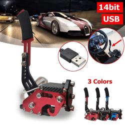 14Bit PC USB Handbrake SIM For Racing Games G27/G29 T500 FANATEC Black
