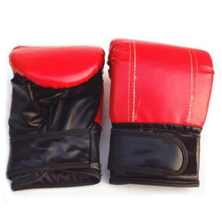1Pair Adult Boxing Gloves Grappling Punching Bag Training Martia Red
