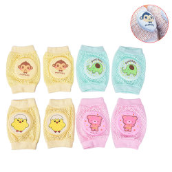 1Pair Cute Knee Pads for Baby Leg Warmer Kids Safety Crawling &  B