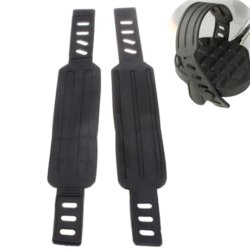 1Pair Exercise Bike Belts Bicycle Pedal Straps Fitness Equipment One Size