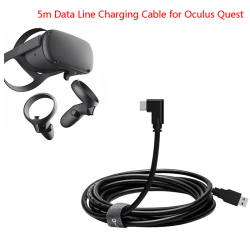 1× 5M 3.0 Data Line Charging Cable for Oculus Quest Link VR Head one size