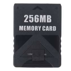256MB Archive Storage Card Memory Card For PlayStation2 PS2 One Size