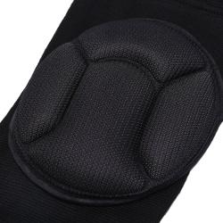2pcs Kneepad Extreme Knee Pad Lap Knee Protector for Football Cy black